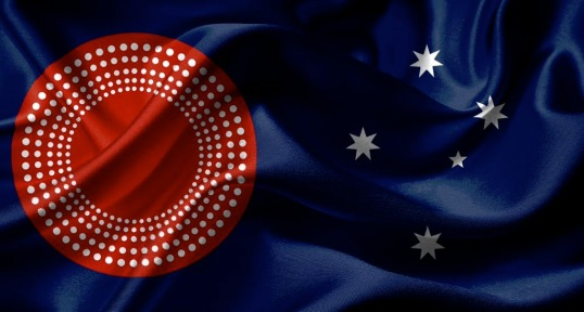 Beautiful Aussie flag